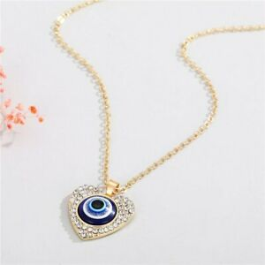Lucky Evil Eye Necklace Turkish Blue Eye Pendant Clavicle Choker Women Jewelry