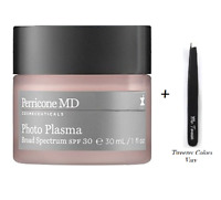 Perricone MD Photo Plasma Anti-Aging Moisturizer SPF 30, 1 oz + Tweezer