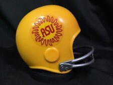 VTG 1976 Arizona State University ASU Football Plastic HELMET BANK Sun Devils