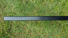 Aluminium Pool Fence Post  Square  50 x 50 x 1.8 x 2100 mm - Black Powder coated
