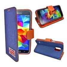 Étuis, housses et coques bleus Samsung Samsung Galaxy S5 pour téléphone mobile et assistant personnel (PDA)