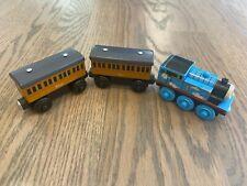 2012 THOMAS Roll N' Whistle + ANNIE & CLARABEL coach cars wooden railway lot