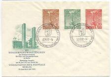 Berlin 88-90, amtlicher FDC, Ersttagsbrief #l611