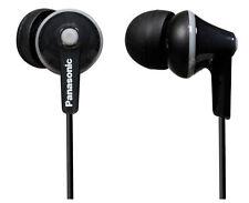 Panasonic HJE125E In-Ear Only Headphones - Black