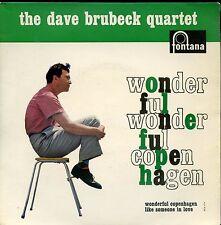 7inch DAVE BRUBECK QUARTET wonderful copenhagen HOLLAND EX +PS