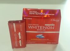 Tooth whitening strip with mint LG korea Caren whitenow 8pce x 1 pack
