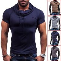 Coo New Fashion Men's Summer Stylish Slim Fit Short Sleeve Polo Shirts T-shirt