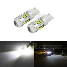 2PCS Pure White 50W XBD CREE T10 T15 168 192 921 LED Bulbs for Back up Lights