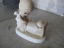 "Precious Moments Jonathan & David Hand that Rocks Future Figurine 4 3/4"" E-3108"