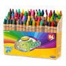64 Assorted Colour Crayons Washable Non-Toxic Children's Colouring  Art Drawing
