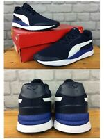 PUMA MENS UK 8 EU 42 PACER NEXT FS NAVY BLUE TRAINERS RRP £50  EP