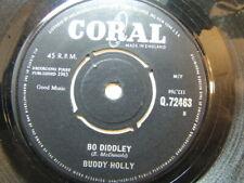 "Buddy Holly – Bo Diddley 1963 7"" Coral Q 72463"