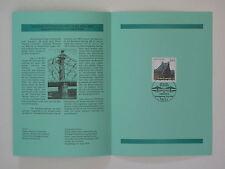(00j19) Bund Erinnerungsblatt 2000 mit ESST Mi.Nr. 2109 Elbbrücke Blaues Wunder