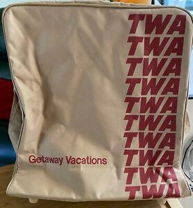 AIRLINE TWA Flight Bag NEW