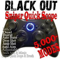 BLACK OPS 2 RAPID FIRE Modded Xbox 360 Controller quick scope Halo MW3 Jitter T