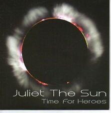 (AF193) Juliet The Sun, Time for Heroes - DJ CD