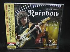 RITCHIE BLACKMORE'S RAINBOW Live In Birmingham 2016 JAPAN 2CD Deep Purple Ferrym