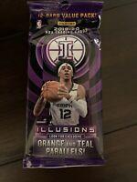 2019-20 Panini Illusions NBA Basketball 12-card Value Pack Cello