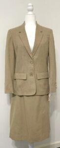 NWT Vtg Pendleton 100% Virgin Wool Womens Skirt Suit Sz 12