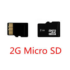 2GB Class 6 Micro SD Card TF Flash Memory MicroSDHC For Camera NEW