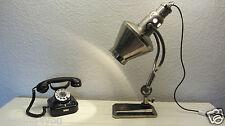 graziöse Sollux Original Hanau Quarzlampe Nr. 696 Schreibtisch Lampe '40er J