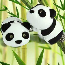 1x Kawaii Cute Panda LED Light with Sound Keychain Key Chain Ring Keyring Gifts