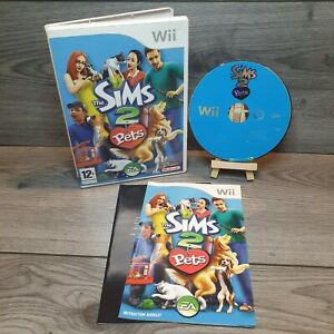 The Sims 2 Pets Nintendo Wii - PAL Tested & Complete