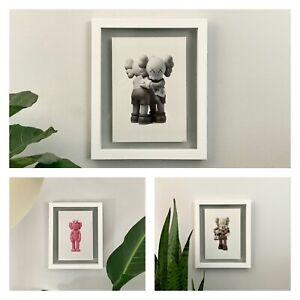 Set of 3 - Kaws Vinyl Figure Posters