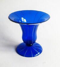 Michel Powolny art deco/wiener werkstätte goblet vase for Loetz, 1915 RARE FORM