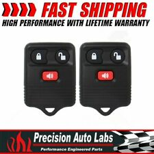 2x Keyless Entry Remote Car Key Fob Transmitter For Ford F150 Expedition Escape