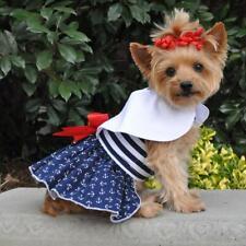 Doggie Design Nautical Dog Dress & Matching Leash