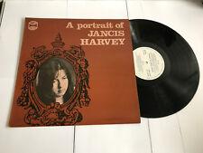 Jancis Harvey – A Portrait Of RARE VINYL LP SIGNED : Westwood WRS1 NMINT/EXEX-