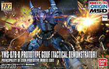 Bandai 006404 Gundam The Origin 004 YMS-07B-0 PROTOTYPE GOUF 1/144 Scale Kit