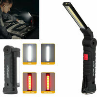 USB COB LED Magnetic Work Light Lamp Flashlight Inspect Rechargeable Torch Lamp