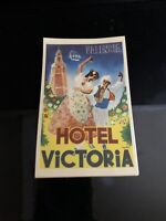 Hotel Victoria Car Decal Original Luggage Stickers