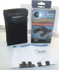 Celestron EclipSmart 10x25 Solar Viewing Binoculars - ISO Certified