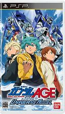 Used PSP Mobile Suit Gundam AGE Universe Accel