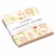 Charm Pack ** CHESNUT STREET by Fig Tree für MODA ** 5 inch ** 42 Quadrate