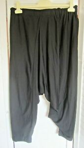 XLNT-ALISTAIR TRUNG-Soft,Japanese Fabric Drop-Crotch Pants-Ultra Comfort-Sz 3
