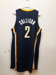 ADIDAS REVOLUTION 30 AUTHENTIC NBA INDIANA PACERS DARREN COLLISON BLUE L
