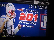 N.E. PATRIOTS V. L.A. RAMS-TOM BRADY WINS #201 -DEC. 4,2016 ELECTRONIC TICKET