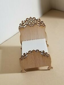 1:48 inch miniature scale FRENCH LACE BED