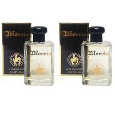 2 pezzi MORRIS MEN'S After Shave Lotion / Lozione Dopobarba uomo 100 ml