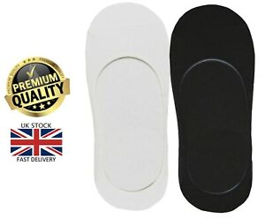 New 1 Pair Ladies Men's Trainer Shoe Liner Footsies No Show Gym Invisible Socks