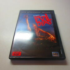 The Evil Dead Elite Entertainment Sam Raimi's Special Collector's Edition Dvd