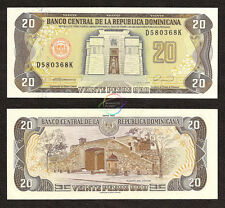 DOMINICAN REPUBLIC 20 Pesos 1990 P-133 UNC Uncirculated