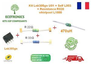 Kit Universel Réparation  L1880  Whirlpool / Bauknecht / Laden  22R+33R