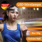 LED Kopflampen Stirnlampen Stirn Lampe leicht Joggen Fahrrad Laufen Sport Kopf