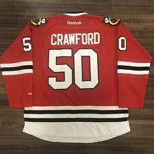 Reebok Chicago Blackhawks Corey Crawford NHL Hockey Jersey Red Home XL