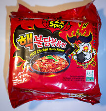 10 Pack Samyang 2X Spicy Hot Chicken Korean Ramen Nuclear Fire Noodle Challenge